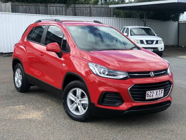 Used Holden Trax TJ MY17 LS Chermside, 2017 Holden Trax TJ MY17 LS Red 6 Speed Automatic Wagon