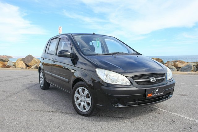 Used Hyundai Getz TB MY07 S Lonsdale, 2008 Hyundai Getz TB MY07 S Black 5 Speed Manual Hatchback