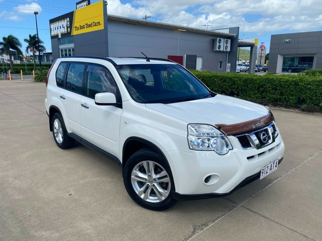 Used Nissan X-Trail T31 Series V ST 2WD Townsville, 2013 Nissan X-Trail T31 Series V ST 2WD White/310819 6 Speed Manual Wagon
