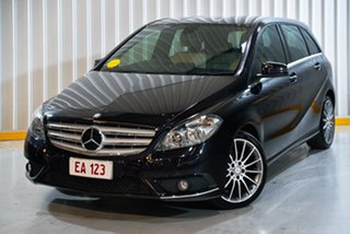 2014 Mercedes-Benz B-Class W246 B200 CDI DCT Black 7 Speed Sports Automatic Dual Clutch Hatchback.