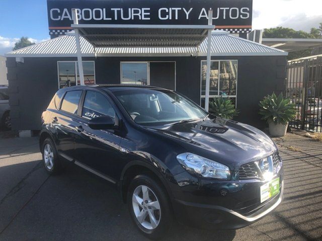 Used Nissan Dualis J10 Series II ST (4x2) Morayfield, 2011 Nissan Dualis J10 Series II ST (4x2) Blue 6 Speed Manual Wagon