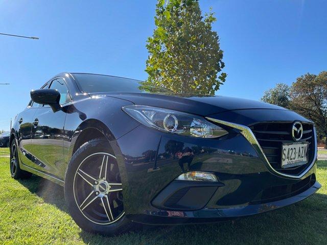 Used Mazda 3 BM5278 Neo SKYACTIV-Drive Hindmarsh, 2013 Mazda 3 BM5278 Neo SKYACTIV-Drive Deep Crystal Blue 6 Speed Sports Automatic Sedan