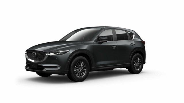 Demo Mazda CX-5 KF4W2A Touring SKYACTIV-Drive i-ACTIV AWD Toowoomba, 2021 Mazda CX-5 KF4W2A Touring SKYACTIV-Drive i-ACTIV AWD Machine Grey 6 Speed Sports Automatic