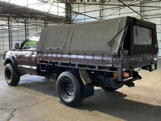 2007 Toyota Hilux KUN26R MY07 SR Plum 5 Speed Manual Cab Chassis