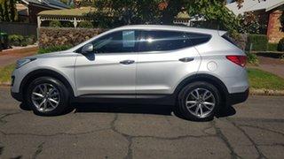 2013 Hyundai Santa Fe DM Elite CRDi (4x4) Silver 6 Speed Automatic Wagon.