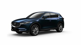 2021 Mazda CX-5 KF4WLA Akera SKYACTIV-Drive i-ACTIV AWD Deep Crystal Blue 6 Speed Sports Automatic.