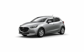 2021 Mazda 2 DJ2HA6 G15 SKYACTIV-MT Pure Sonic Silver 6 Speed Manual Hatchback.