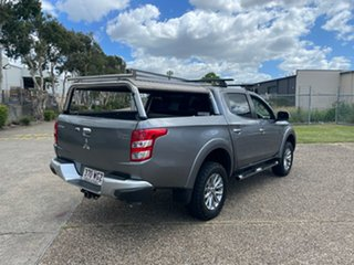 2015 Mitsubishi Triton MQ MY16 GLS (4x4) Grey 6 Speed Manual Dual Cab Utility.