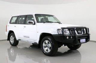 2016 Nissan Patrol GU Series 9 ST N-Trek White 4 Speed Automatic Wagon.