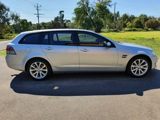 2011 Holden Berlina VE Series II International Silver Sports Automatic Wagon.