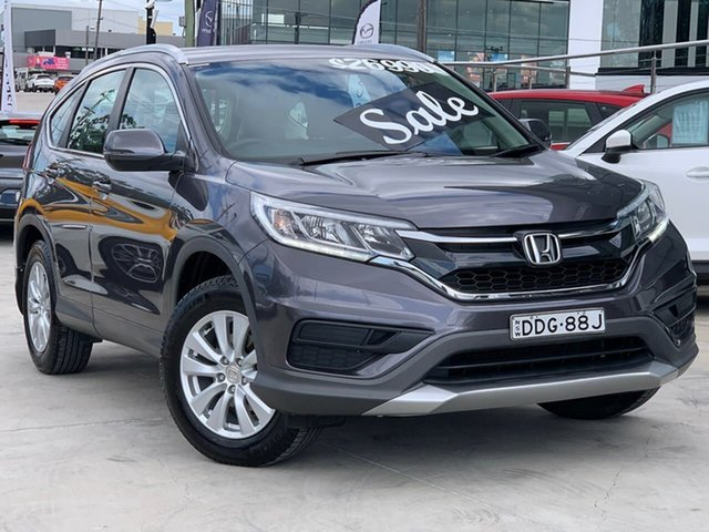 Used Honda CR-V RM Series II MY17 VTi Liverpool, 2016 Honda CR-V RM Series II MY17 VTi Grey 5 Speed Automatic Wagon