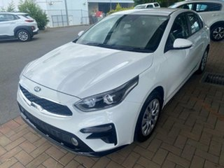 2019 Kia Cerato BD MY20 S Clear White 6 Speed Sports Automatic Sedan.
