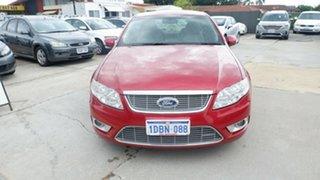 2009 Ford Falcon FG G6E Turbo Red 6 Speed Sports Automatic Sedan.