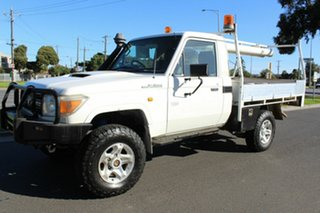 2007 Toyota Landcruiser VDJ79R Workmate White 5 Speed Manual Cab Chassis
