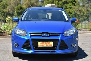 2013 Ford Focus LW MkII Sport PwrShift Blue 6 Speed Sports Automatic Dual Clutch Hatchback.