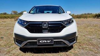 2021 Honda CR-V RW MY21 VTi FWD X Platinum White 1 Speed Automatic Wagon.