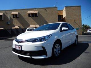 2018 Toyota Corolla ZRE172R MY17 Ascent Glacier White 7 Speed CVT Auto Sequential Sedan