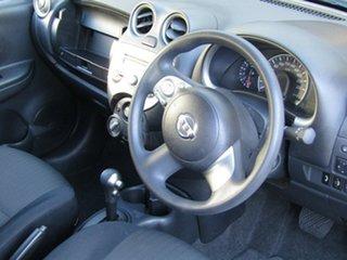 2011 Nissan Micra K13 ST Adventurine Silver 4 Speed Automatic Hatchback