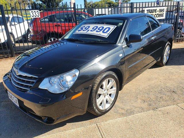 Used Chrysler Sebring JS MY10 Limited Morphett Vale, 2010 Chrysler Sebring JS MY10 Limited Black 6 Speed Sports Automatic Convertible