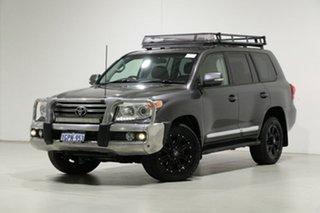 2014 Toyota Landcruiser VDJ200R MY13 Sahara (4x4) Grey 6 Speed Automatic Wagon.