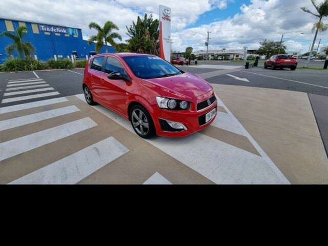 Pre-Owned Holden Barina TM MY16 RS Gladstone, 2016 Holden Barina TM MY16 RS Red 6 Speed Manual Hatchback