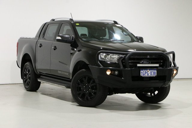 Used Ford Ranger PX MkIII MY19 Wildtrak 2.0 (4x4) Bentley, 2018 Ford Ranger PX MkIII MY19 Wildtrak 2.0 (4x4) Black 10 Speed Automatic Double Cab Pick Up