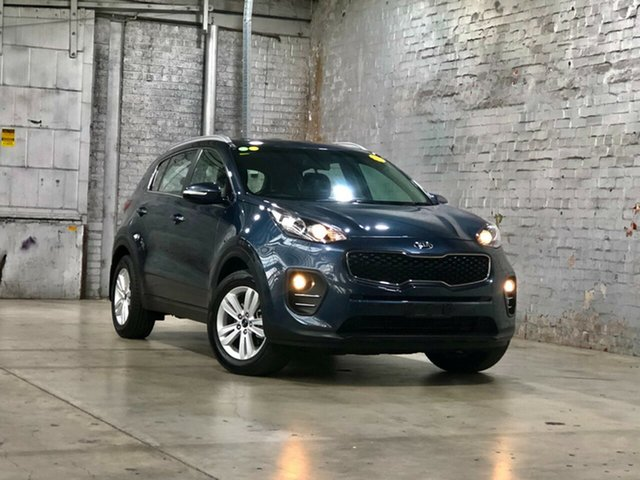 Used Kia Sportage QL MY18 Si 2WD Mile End South, 2018 Kia Sportage QL MY18 Si 2WD Blue 6 Speed Sports Automatic Wagon