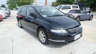 2004 Honda Odyssey 3rd Gen Luxury Black 5 Speed Sports Automatic Wagon.