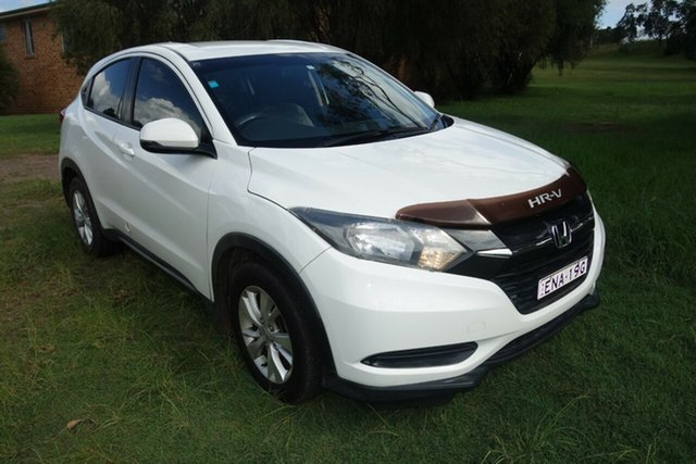 Used Honda HR-V MY15 VTi East Maitland, 2015 Honda HR-V MY15 VTi White 1 Speed Constant Variable Hatchback