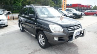 2006 Kia Sportage KM Black 4 Speed Sports Automatic Wagon.