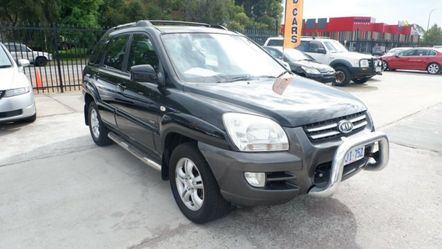 Used Kia Sportage KM St James, 2006 Kia Sportage KM Black 4 Speed Sports Automatic Wagon
