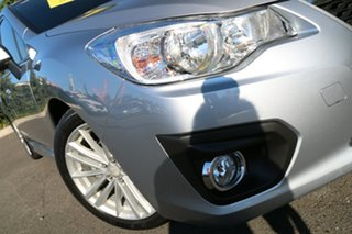 2013 Subaru Impreza G4 MY13 2.0i-S Lineartronic AWD Ice Silver 6 Speed Constant Variable Sedan.