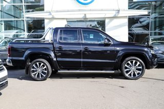 2017 Volkswagen Amarok 2H MY17 TDI550 4MOTION Perm Ultimate Black 8 Speed Automatic Utility.