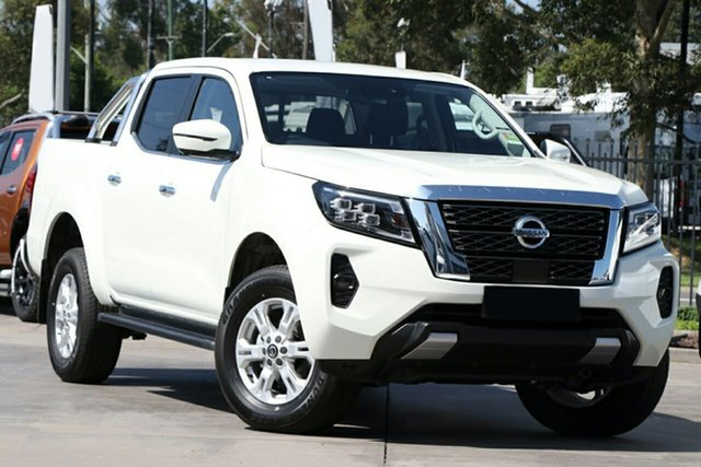 New Nissan Navara D23 MY21 ST St Marys, 2021 Nissan Navara D23 MY21 ST White Diamond 7 Speed Sports Automatic Utility