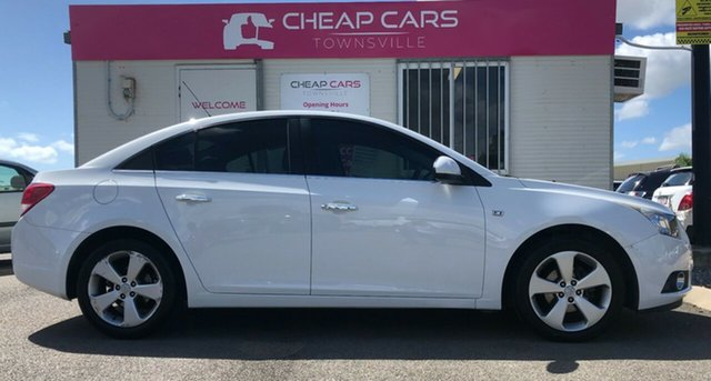 Used Holden Cruze JG CDX Garbutt, 2010 Holden Cruze JG CDX White 6 Speed Sports Automatic Sedan