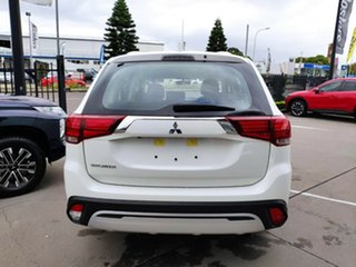 2021 Mitsubishi Outlander ZL MY21 ES 2WD White Solid 5 Speed Manual Wagon.