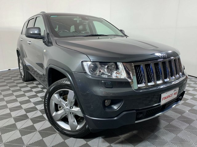 Used Jeep Grand Cherokee WK MY2011 Overland Wayville, 2011 Jeep Grand Cherokee WK MY2011 Overland Grey 5 Speed Sports Automatic Wagon