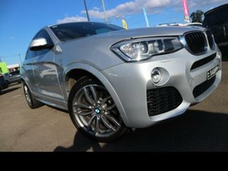 2014 BMW X4 F26 xDrive 20D Silver 8 Speed Automatic Coupe.