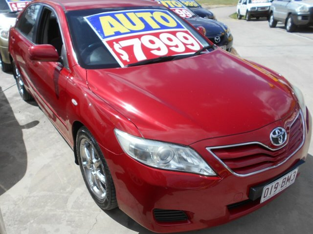 Used Toyota Camry ACV40R MY10 Altise Springwood, 2010 Toyota Camry ACV40R MY10 Altise Red 5 Speed Automatic Sedan