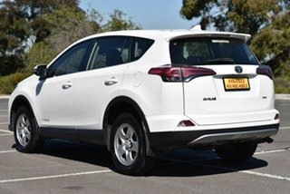 2018 Toyota RAV4 ALA49R GX AWD White 6 Speed Sports Automatic Wagon