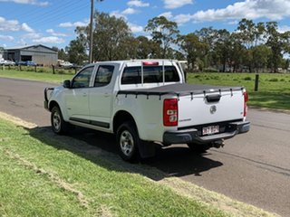 2016 Holden Colorado RG MY16 LS (4x4) White 6 Speed Automatic Crew Cab Chassis