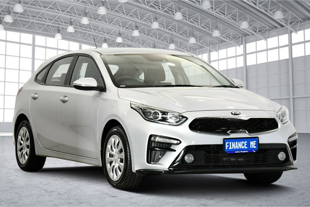 Used Kia Cerato BD MY20 S Victoria Park, 2020 Kia Cerato BD MY20 S Silky Silver 6 Speed Sports Automatic Hatchback