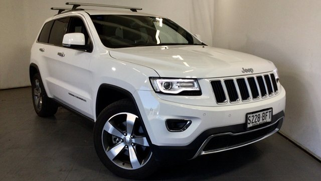 Used Jeep Grand Cherokee WK MY2014 Limited Elizabeth, 2014 Jeep Grand Cherokee WK MY2014 Limited White 8 Speed Sports Automatic Wagon