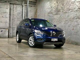 2017 Renault Koleos HZG Zen X-tronic Blue 1 Speed Constant Variable Wagon.