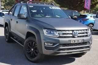 2018 Volkswagen Amarok 2H MY18 TDI550 4MOTION Perm Dark Label Grey 8 Speed Automatic Utility.