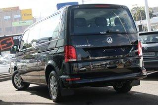 2021 Volkswagen Caravelle T6.1 MY21 TDI340 LWB DSG Trendline Deep Black Pearl Effect 7 Speed.