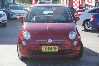 2008 Fiat 500 Series 1 POP Red 5 Speed Manual Hatchback.
