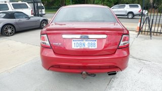 2009 Ford Falcon FG G6E Turbo Red 6 Speed Sports Automatic Sedan