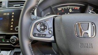 2021 Honda CR-V RW MY21 VTi FWD X Platinum White 1 Speed Automatic Wagon