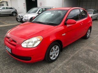 2006 Hyundai Accent LC MY04 GL Hip Hop Red 5 Speed Manual Hatchback